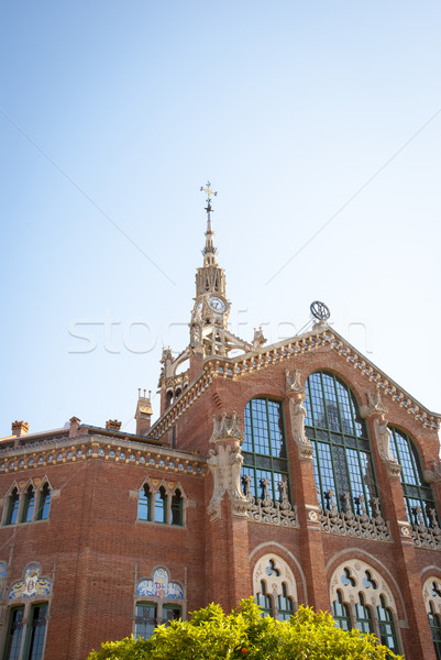 Hospital de la Santa Creu i Sant Pau, Barcelona Stock photo © dinozzaver