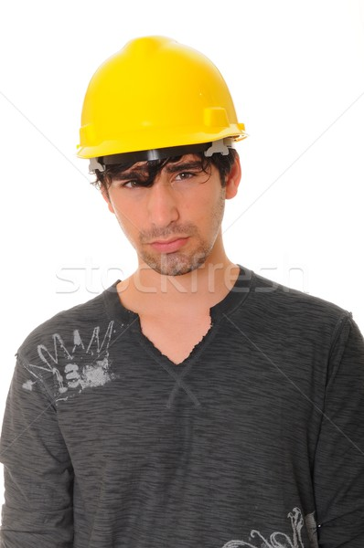 Young Construction Worker Stock photo © diomedes66