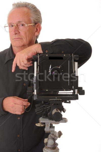 Large Format Photographer Stock photo © diomedes66