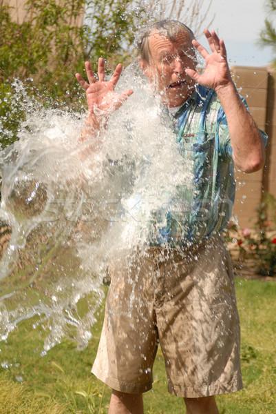 воды старший человека дело стороны Сток-фото © diomedes66