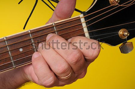 F Major Guitar Chord stock photo © Paul Moore (diomedes66) (#1009962 ...