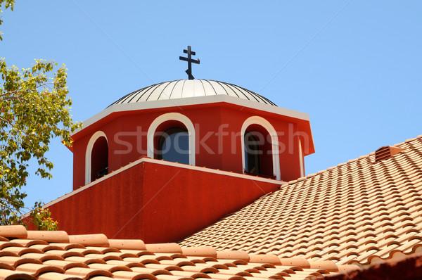 Görög ortodox templom részlet kolostor Arizona Stock fotó © diomedes66