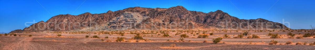 Mine Ravaged Mountain Stock photo © diomedes66