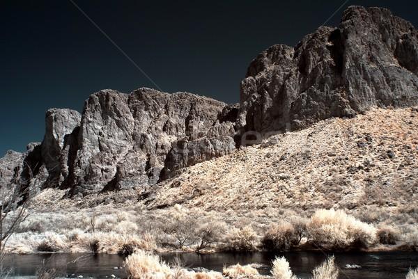Salt River Arizona Stock photo © diomedes66