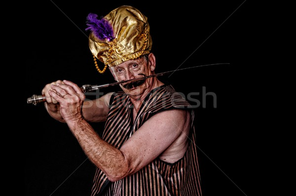 Stock photo: The Sultan