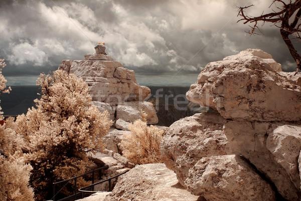 Гранд-Каньон любителей природы рок гор каменные Сток-фото © diomedes66