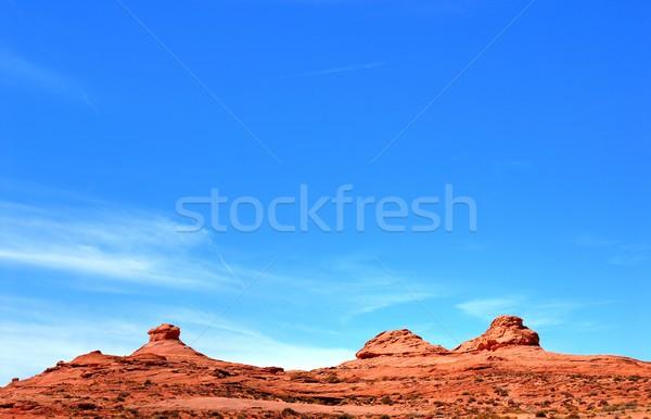 долины синий начало природы горные путешествия Сток-фото © diomedes66