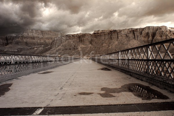 Mountain River Bridge Stock photo © diomedes66