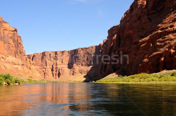 Colorado rio desfiladeiro Arizona paisagem viajar Foto stock © diomedes66