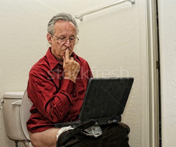 Always Working Stock photo © diomedes66
