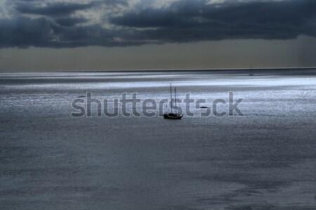 Zeilschip boot manier zuiden zomer schip Stockfoto © diomedes66