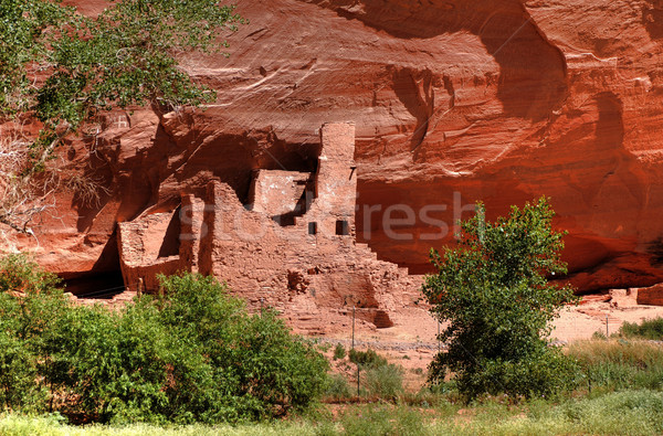 Anasazi Ruins Stock photo © diomedes66