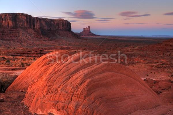Восход долины природы горные облаке горизонте Сток-фото © diomedes66