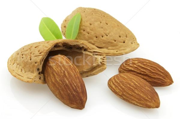 Sweet almonds Stock photo © Dionisvera