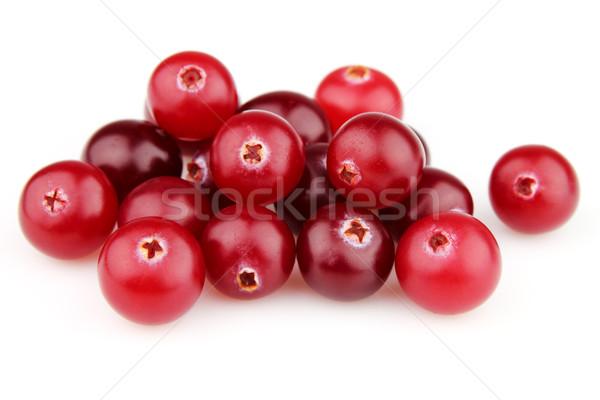 świeże żurawina biały muzyka czerwony diety Zdjęcia stock © Dionisvera