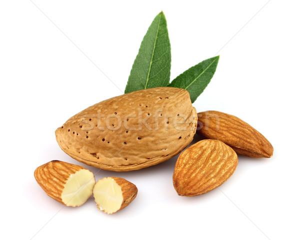 Almonds with kernel  Stock photo © Dionisvera