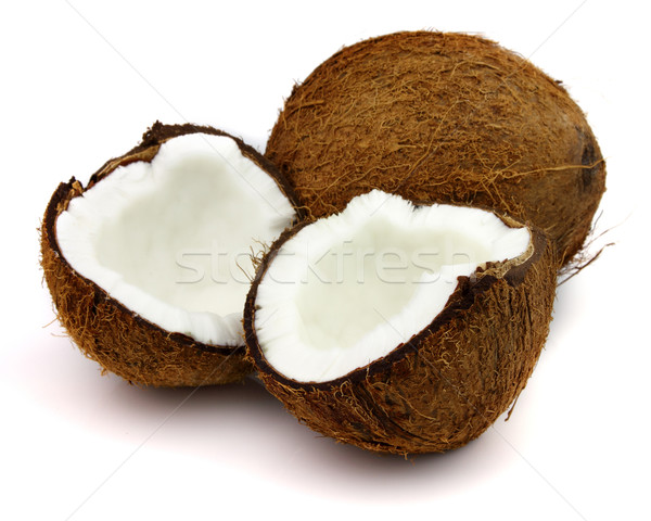 Coco blanche alimentaire nature fruits lait Photo stock © Dionisvera