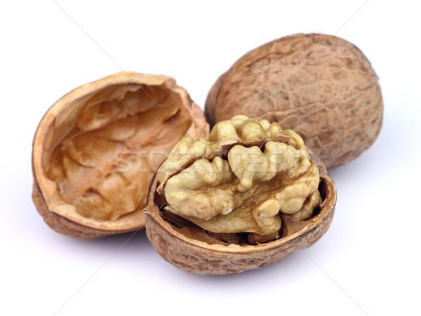 Walnuts in closeup Stock photo © Dionisvera