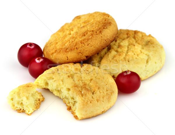 Cookies with cranberry Stock photo © Dionisvera