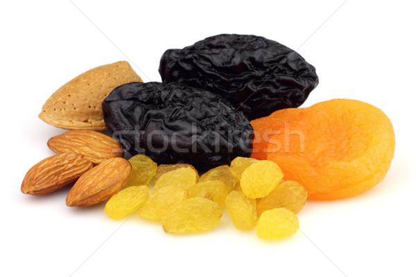 Essiccati frutti dadi alimentare arancione nero Foto d'archivio © Dionisvera