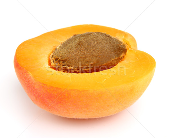Ripe apricot Stock photo © Dionisvera