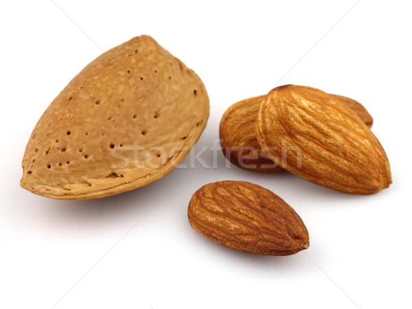 Almond with kernel Stock photo © Dionisvera