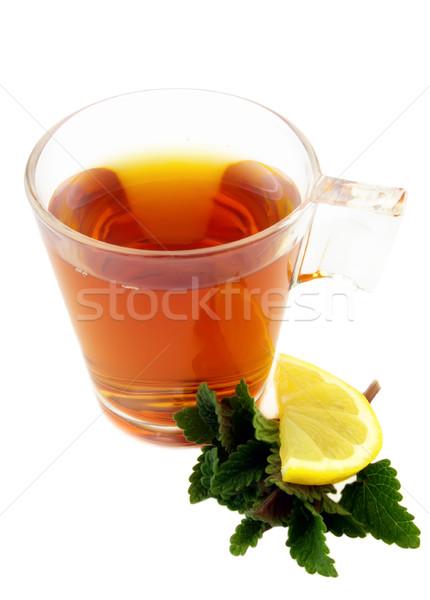 Morning tea Stock photo © Dionisvera
