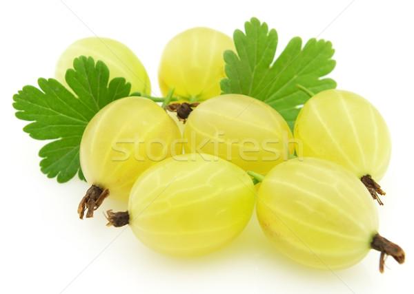 étel gyümölcs csoport citromsárga édes bogyó Stock fotó © Dionisvera