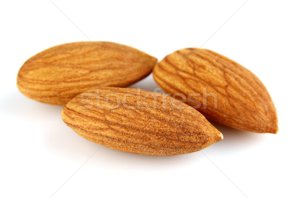 Dried kernel of almond Stock photo © Dionisvera