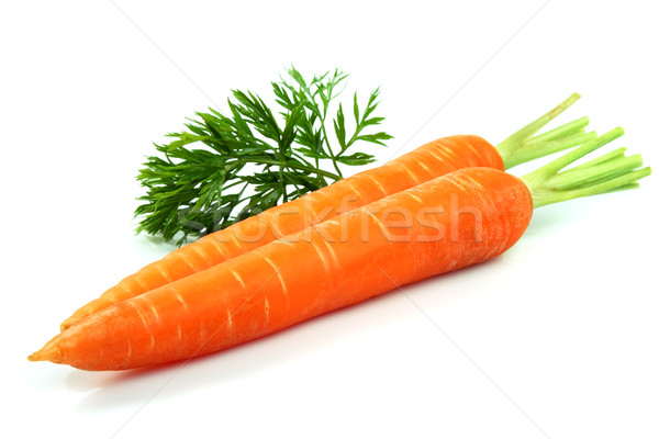 Carrots with leaves Stock photo © Dionisvera