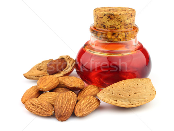 Almonds oil Stock photo © Dionisvera
