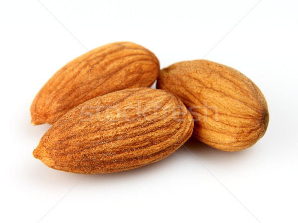 Kernel of almonds Stock photo © Dionisvera