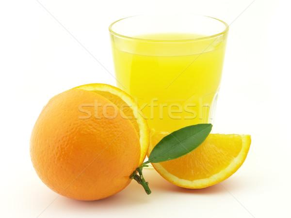 Orange juice Stock photo © Dionisvera
