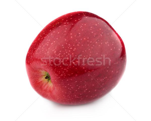 красное яблоко белый природы фрукты красный Sweet Сток-фото © Dionisvera