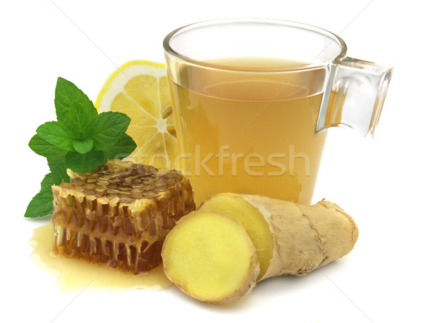 Ginger tea Stock photo © Dionisvera