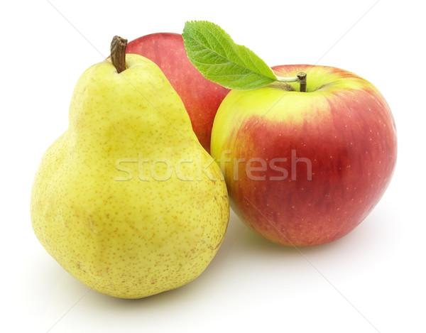 Pommes poire alimentaire fruits sweet objet Photo stock © Dionisvera