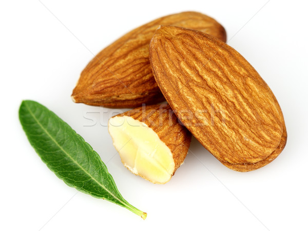 Almonds kernel Stock photo © Dionisvera