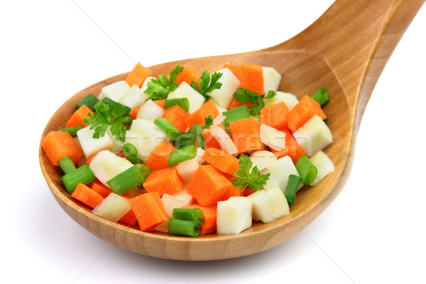 Sebze gıda sağlık turuncu çiftlik Stok fotoğraf © Dionisvera