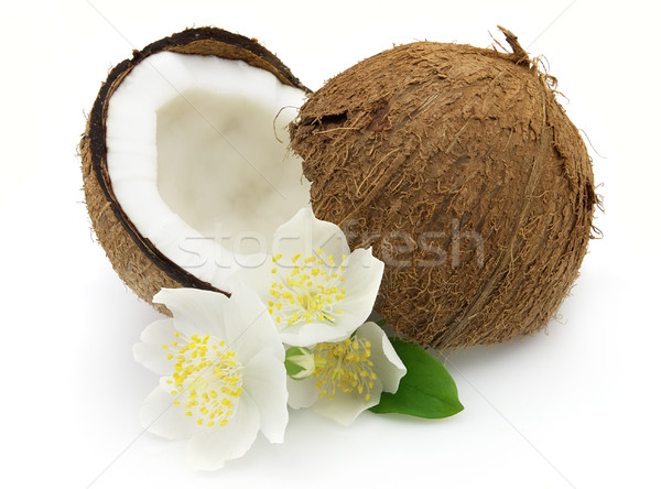 Cocos with jasmine Stock photo © Dionisvera
