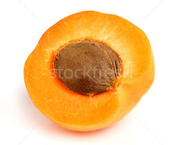 Sweet abricot blanche fruits santé été Photo stock © Dionisvera