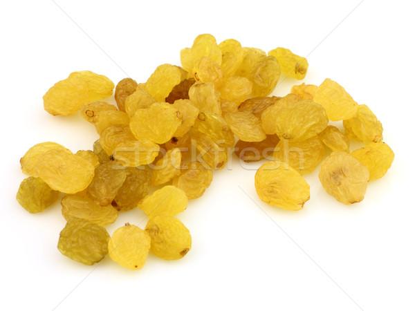 Tatlı kuru üzüm beyaz sarı tohum makro Stok fotoğraf © Dionisvera
