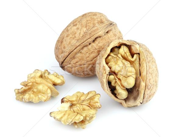 Biały żywności owoców nasion makro zdrowych Zdjęcia stock © Dionisvera