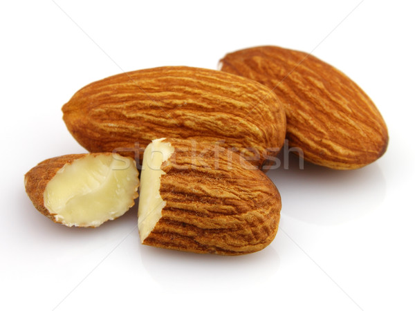 Dried almonds kernel Stock photo © Dionisvera