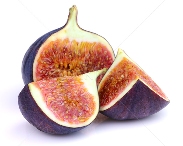 Cut figs in closeup Stock photo © Dionisvera