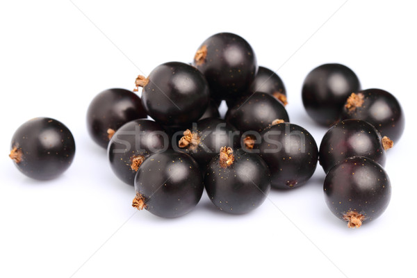 Stock photo: Ripe blackcurrant