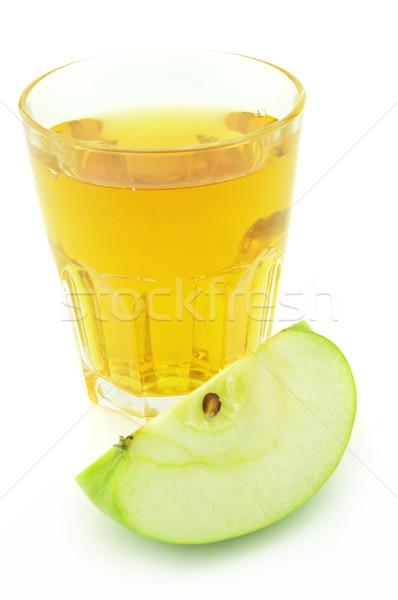 リンゴジュース リンゴ 白 ジュース 新鮮な シード ストックフォト © Dionisvera