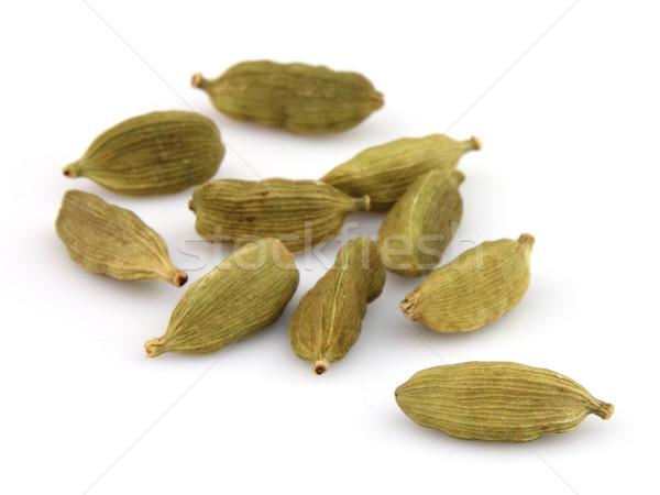 Beyaz baharat tohumları ot bileşen Stok fotoğraf © Dionisvera
