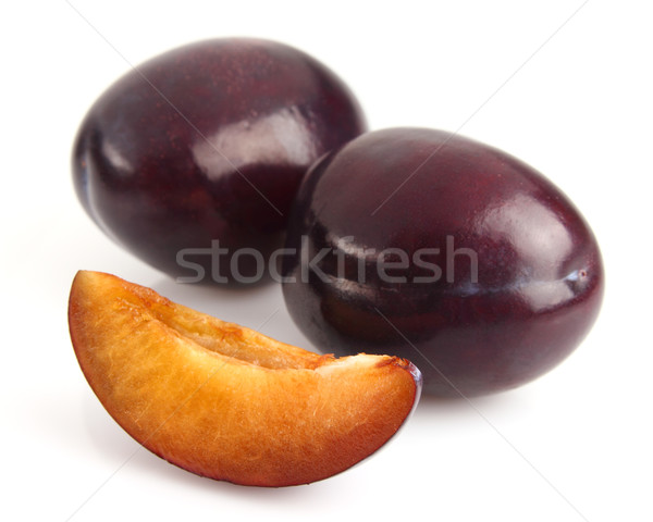 Ripe plum Stock photo © Dionisvera