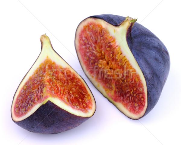 Frischen Obst rot weiß Samen Stock foto © Dionisvera