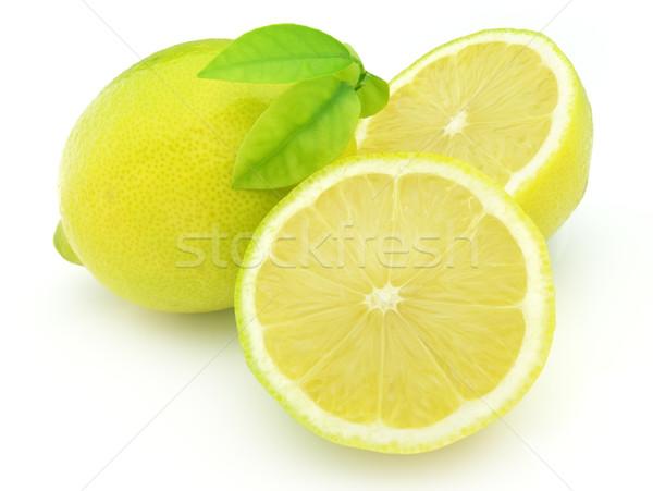 Succosa limone alimentare natura frutta colore Foto d'archivio © Dionisvera